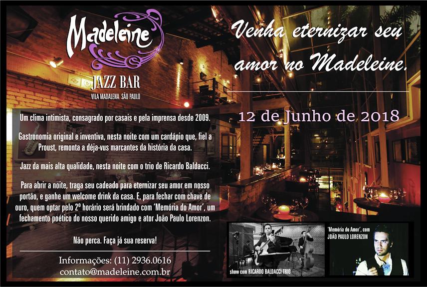 Madeleine Jazz Bar   Gastronomia E Música Com Muita CRIATIVIDADE! Bar,  Restaurante E Música Ao Vivo